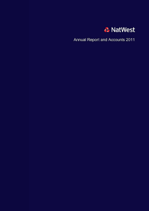 National Westminster Bank annual report 2011