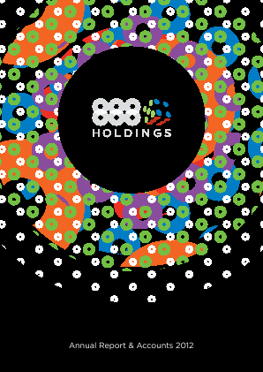 888 Holdings annual report 2012