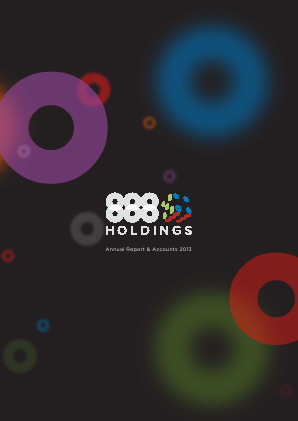 888 Holdings annual report 2013