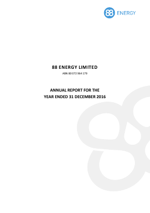 88 Energy annual report 2016