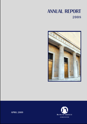 Bank Of Greece annual report 2008