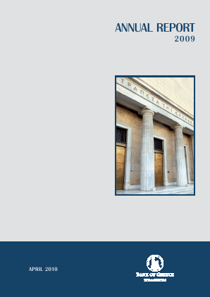 Bank Of Greece annual report 2009