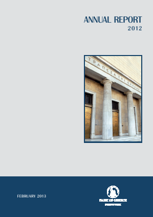 Bank Of Greece annual report 2012
