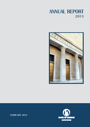 Bank Of Greece annual report 2013