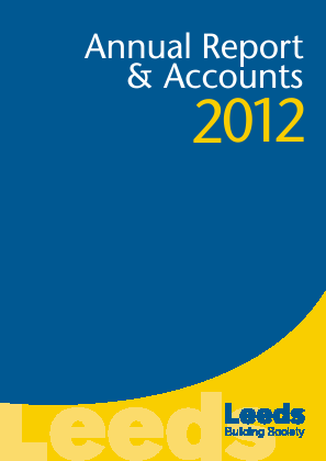 Leeds Building Society annual report 2012