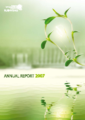 Rushydro annual report 2007