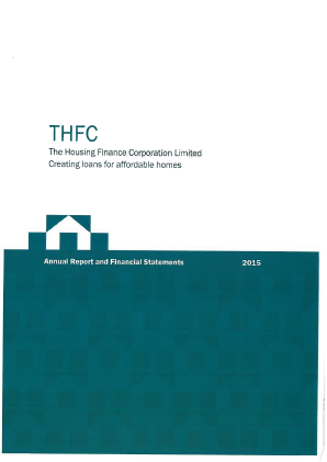 THFC (Social Housing Finance) annual report 2015