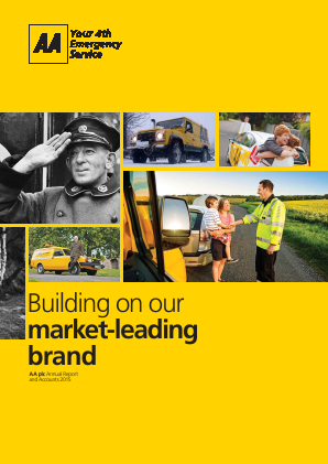 AA Plc annual report 2015
