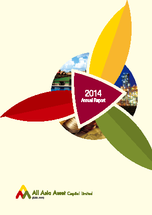 All Asia Asset Cap annual report 2014