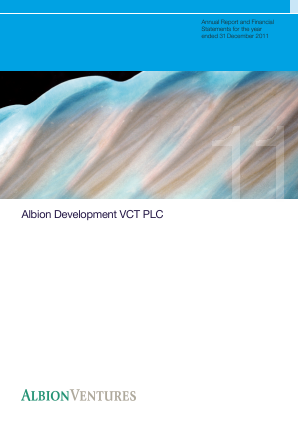 Albion Development VCT Plc annual report 2011
