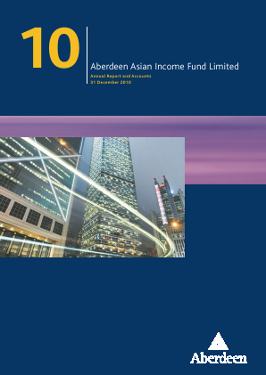 Aberdeen Asian Income Fund annual report 2010