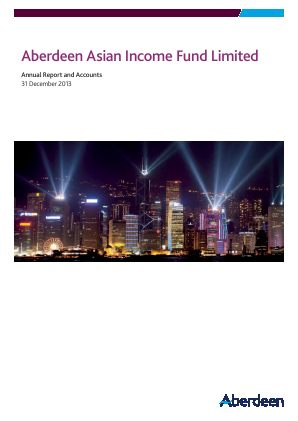 Aberdeen Asian Income Fund annual report 2013