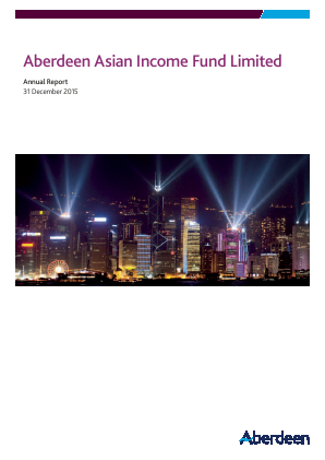 Aberdeen Asian Income Fund annual report 2015