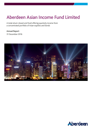 Aberdeen Asian Income Fund annual report 2016