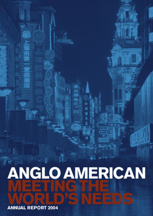 Anglo American annual report 2004