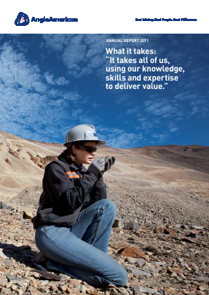 Anglo American annual report 2011