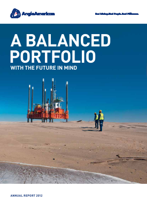 Anglo American annual report 2012