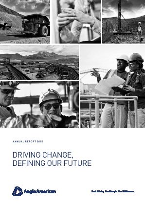 Anglo American annual report 2015