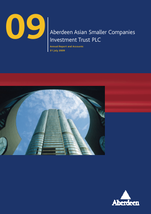 Aberdeen Asian Smaller Companies Investment Trust annual report 2009