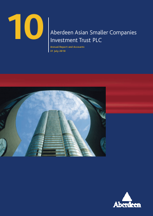 Aberdeen Asian Smaller Companies Investment Trust annual report 2010
