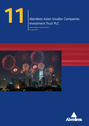 Aberdeen Asian Smaller Companies Investment Trust annual report 2011