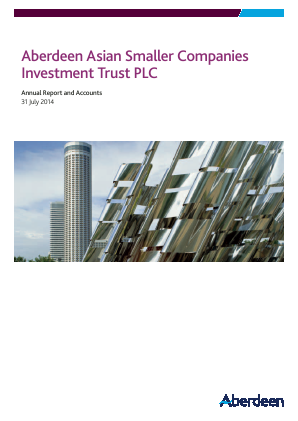 Aberdeen Asian Smaller Companies Investment Trust annual report 2014