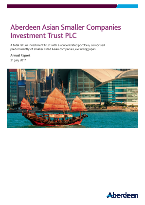Aberdeen Asian Smaller Companies Investment Trust annual report 2017
