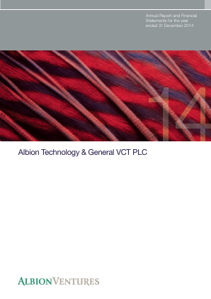 Albion Technology & General VCT Plc annual report 2014