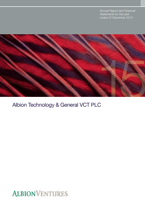 Albion Technology & General VCT Plc annual report 2015