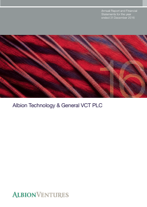 Albion Technology & General VCT Plc annual report 2016