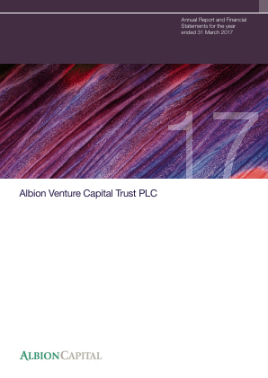 Albion Venture Capital Trust Plc annual report 2017