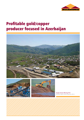 Anglo Asian Mining Plc annual report 2010