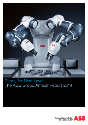 ABB Ltd annual report 2014