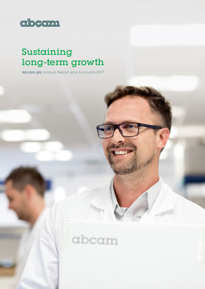 Abcam annual report 2017