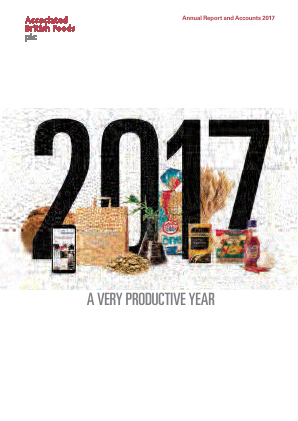 Associated British Foods annual report 2017