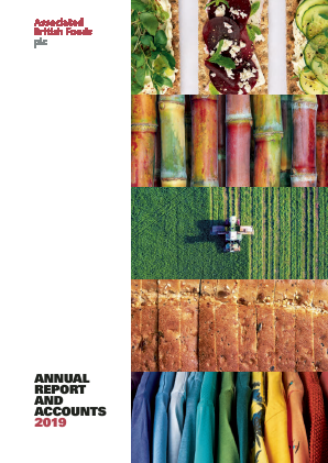 Associated British Foods annual report 2019