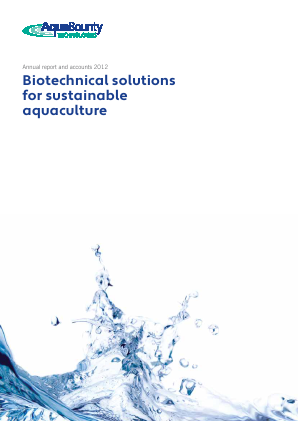 Aqua Bounty Technologies Inc annual report 2012