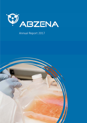 Abzena annual report 2017