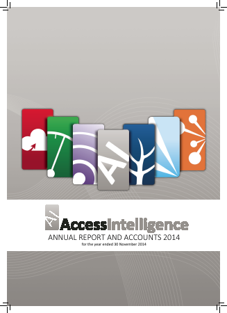 Access Intelligence annual report 2014