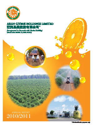 Asian Citrus Holdings annual report 2011