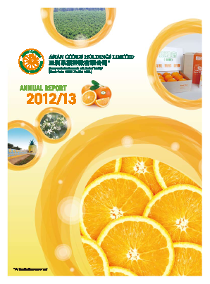 Asian Citrus Holdings annual report 2013
