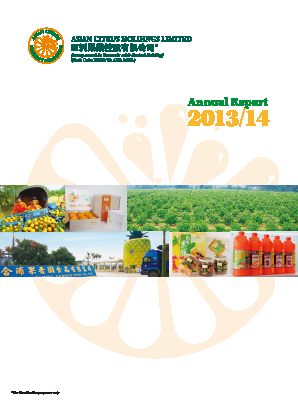 Asian Citrus Holdings annual report 2014
