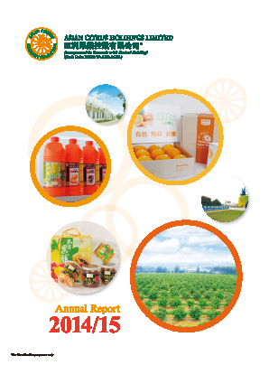 Asian Citrus Holdings annual report 2015