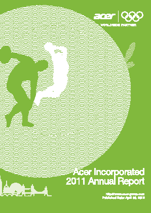 Acer Inc annual report 2011