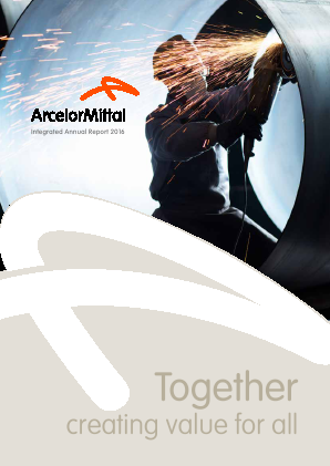 Arcelormittal South Africa annual report 2016