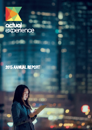 Actual Experience Plc annual report 2015