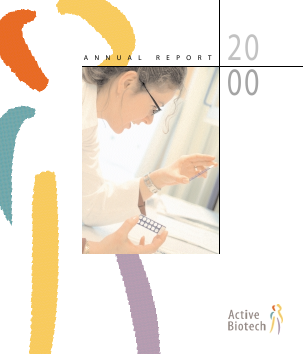 Activeiotech annual report 2000