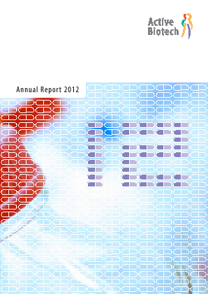 Activeiotech annual report 2012