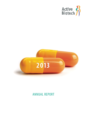 Activeiotech annual report 2013