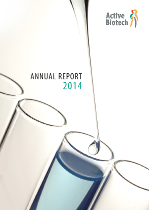 Activeiotech annual report 2014